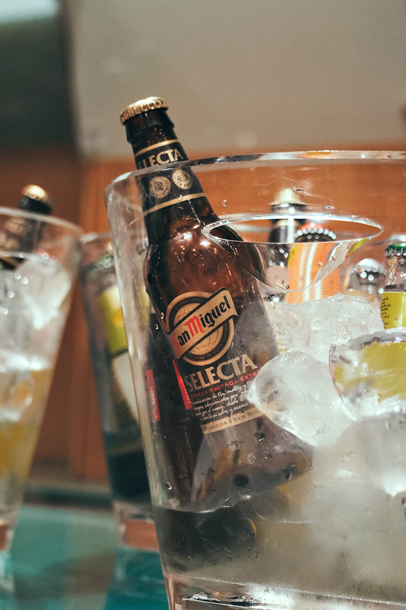 Cerveza selecta San Miguel - Xerta Catering