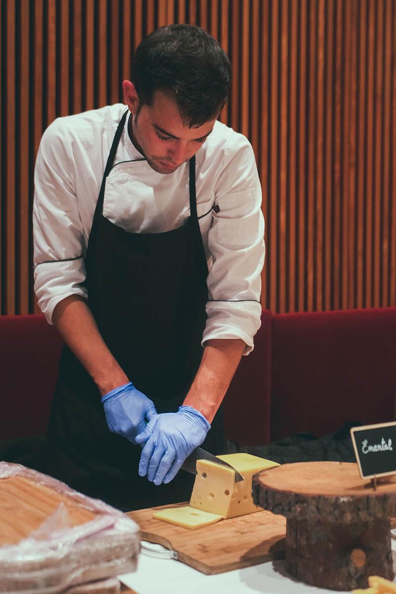 Tabla de quesos españoles y internacionales - Xerta Catering