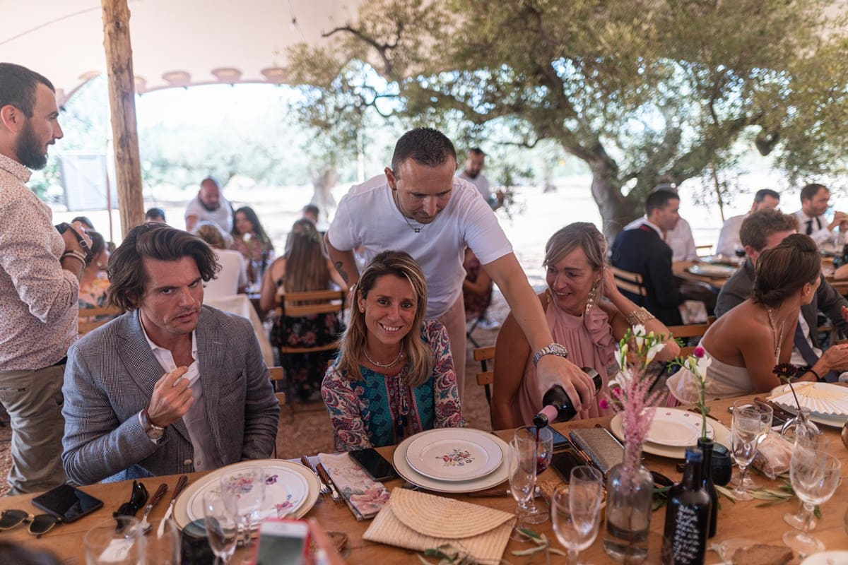 Casaments influencers Yago Bruna i Carolina Ferrer -xerta Catering Fran Lopez - bodas-catering-eventos-estrella-michelin